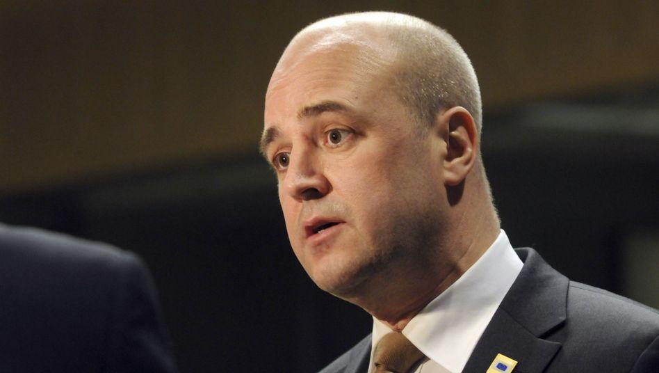 Schwedens Ministerpräsident Reinfeldt: Bessere Jobaussichten durch längere Arbeitszeit