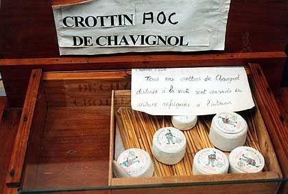 Neben dem Wein ist auch der Ziegenkäse eine Spezialität der oberen Loire