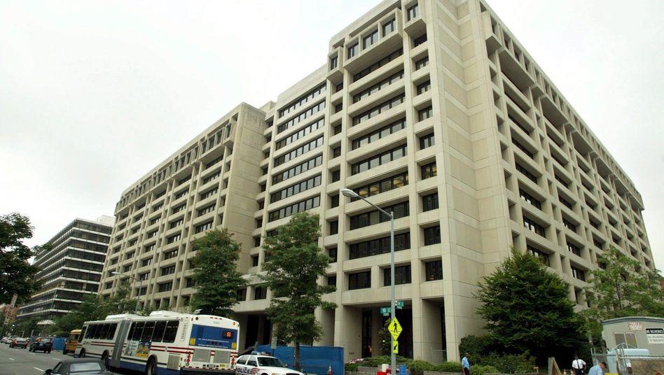 IWF-Gebäude in Washington (Archivbild von 2004): Auf innovative Weise Geld bereitstellen