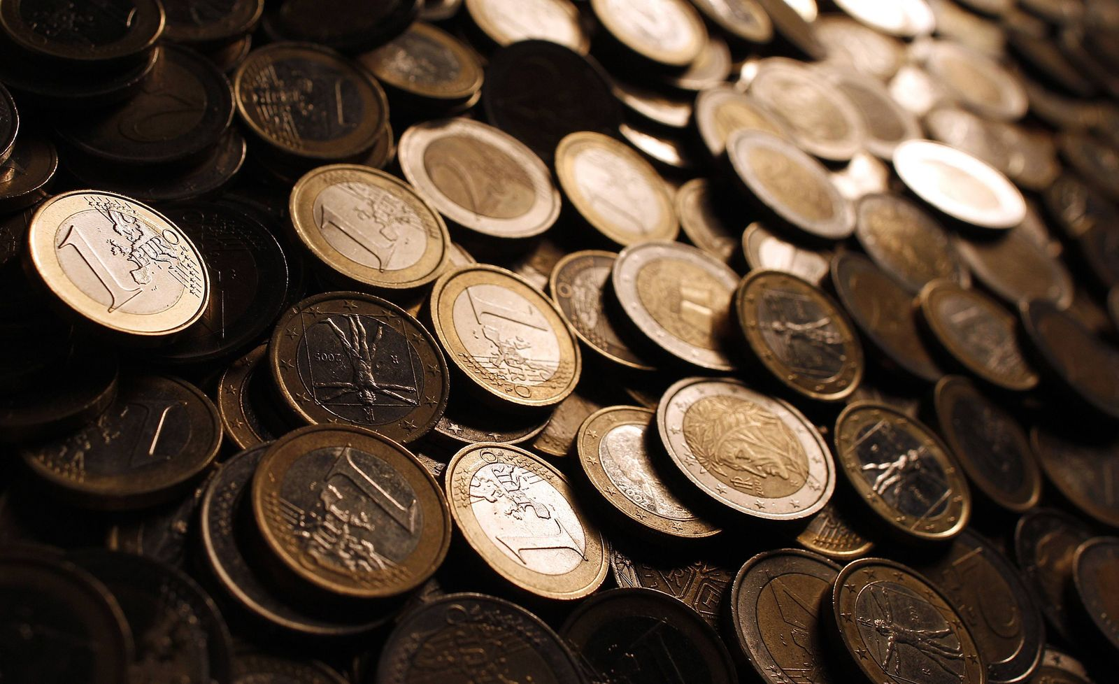 Symbolbild Euro-Münzen
