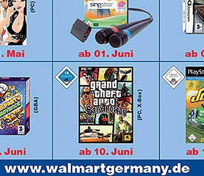 """Bei Wal-Mart Deutschland noch zu haben: """"GTA: San Andreas"""" mit den versteckten Sexszenen"""