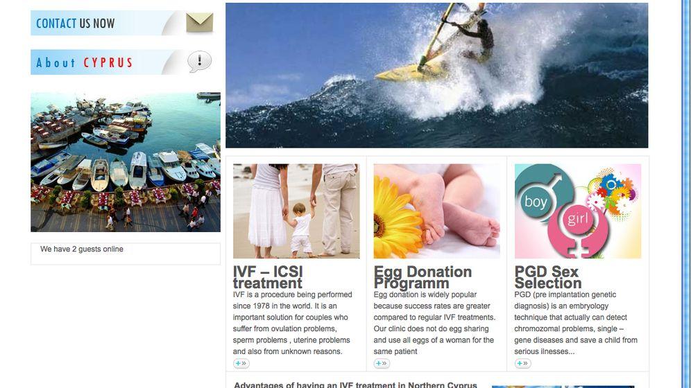 PID-Kliniken: Beach und Baby