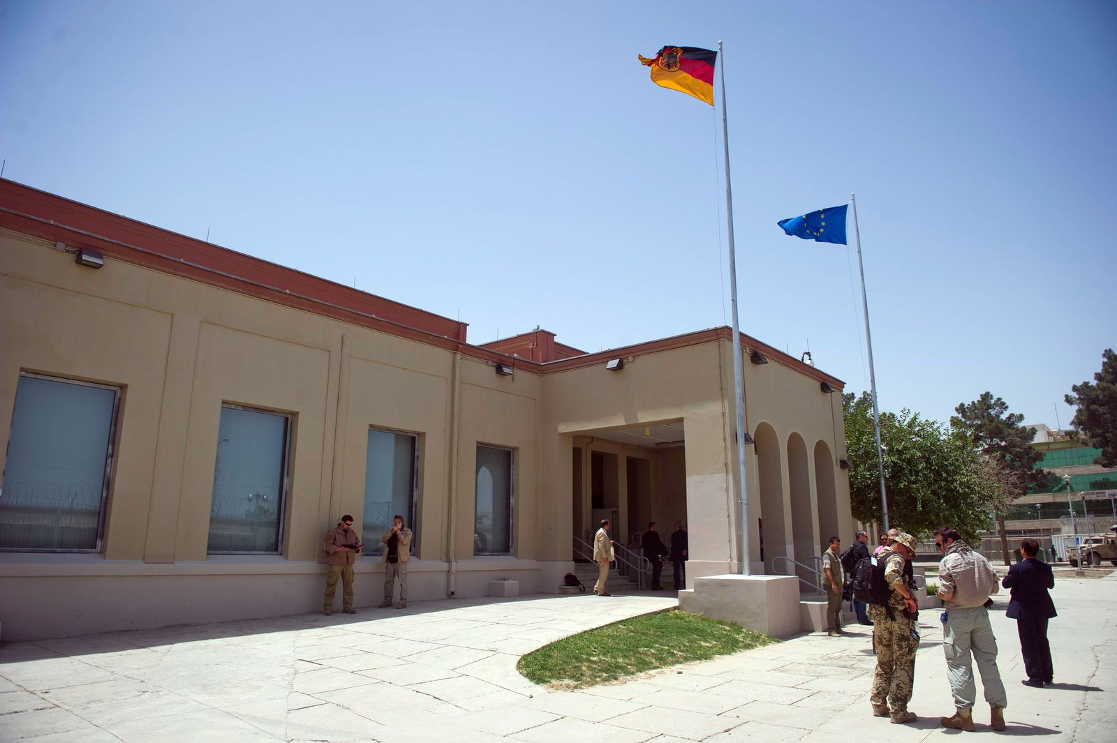 Deutsches Generalkonsulat in Masar-i-Scharif