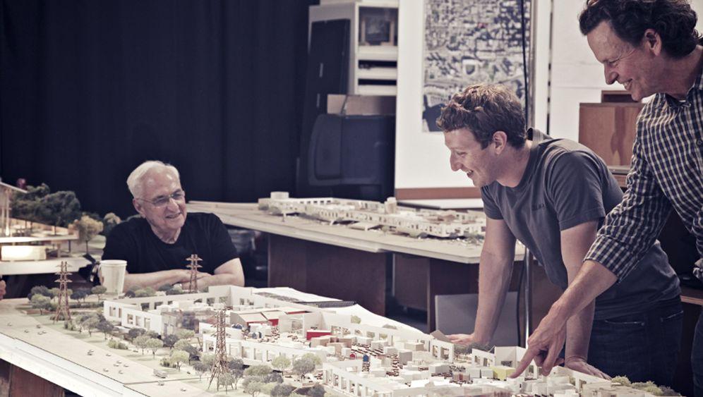 Neubau in Kalifornien: Eine Halle für Facebook