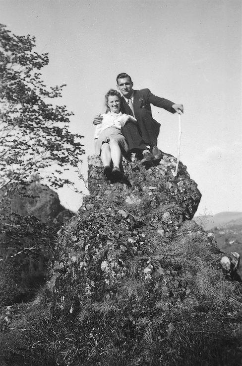 Glückliche Zeiten: Marthe und ihr Verlobter Jacques, 1943