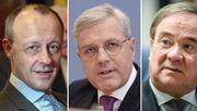 Debatte der drei CDU-Chefkandidaten