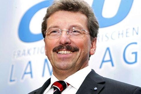CSU-Fraktionschef Georg Schmid: Seit einem Jahr im Amt