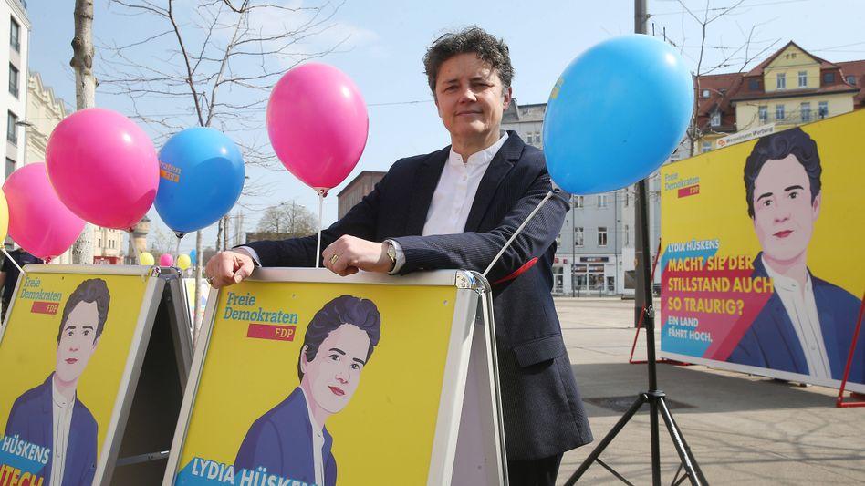 FDP-Spitzenkandidatin Hüskens: »Mit Coronaleugnern und Querdenkern hat die FDP nichts zu tun«
