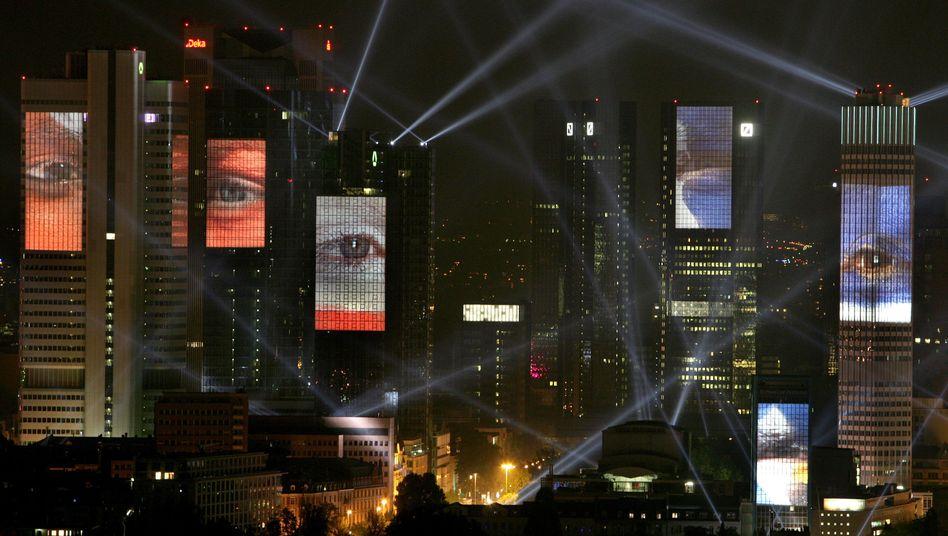 """Bankenviertel in Frankfurt: """"Eine Steuer würde die Auswüchse mit Sicherheit begrenzen"""""""
