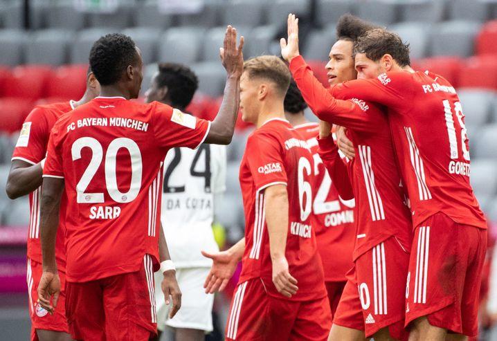 5:0 gegen Frankfurt - die Bayern nehmen wieder Fahrt auf