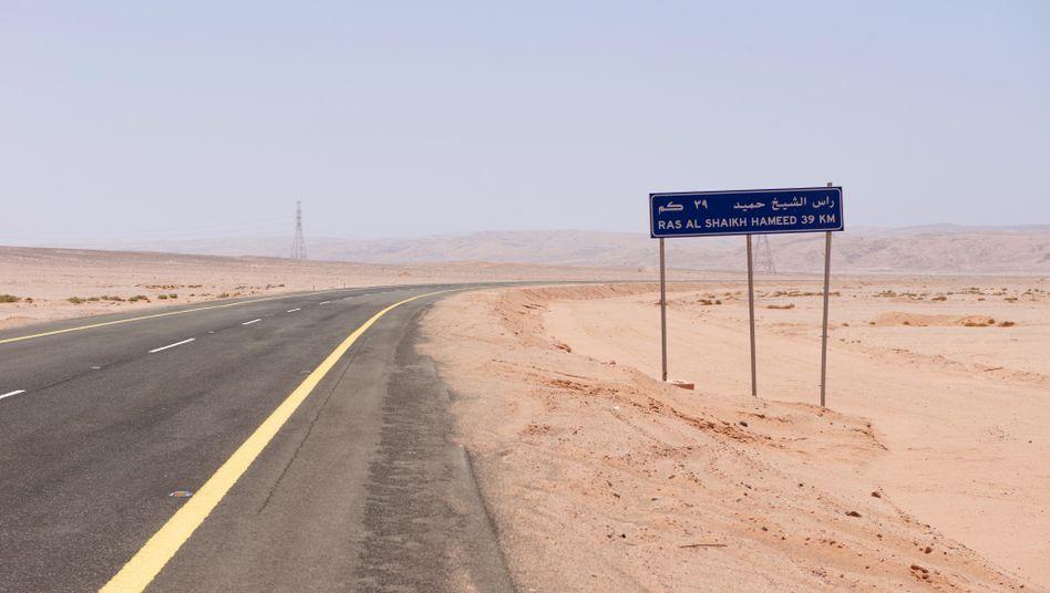 Hier soll die Zukunft entstehen: Neom, eine künstliche Megacity in Saudi-Arabien