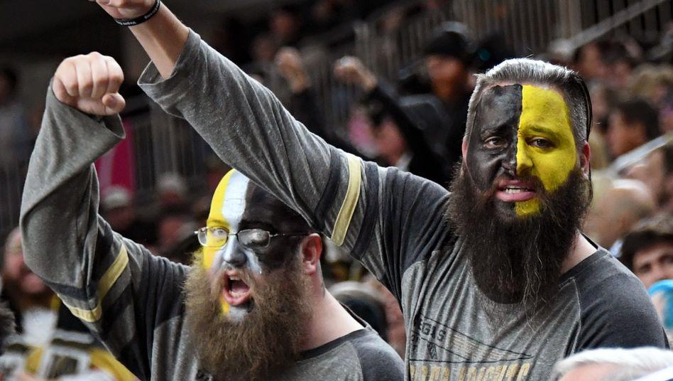 Fans der Vegas Golden Knights