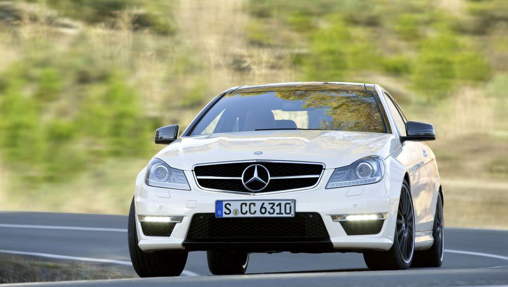 Mercedes C 63 AGM Coupé: Tuning mit Alteisen