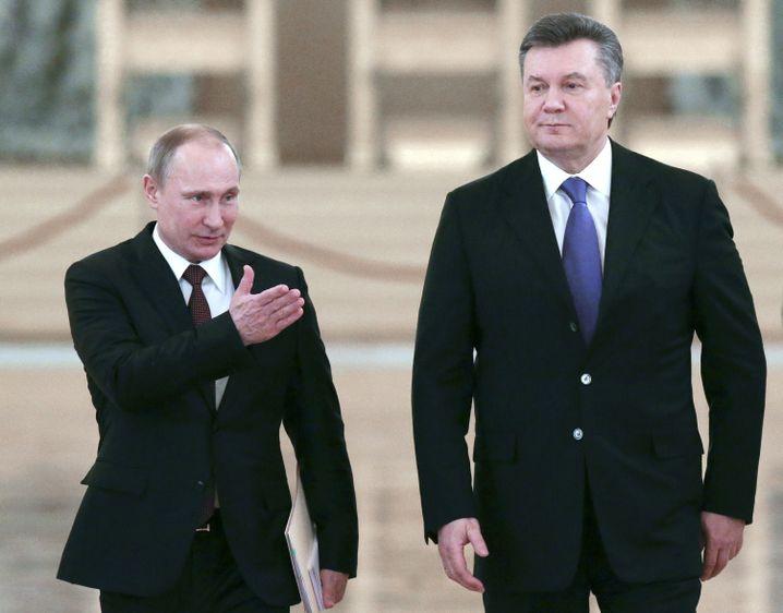Präsidenten Putin, Janukowytsch (Archiv)