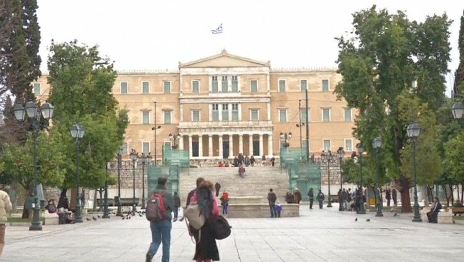 Griechisches Parlament: Jährlich 20 Millionen allein für Berlin
