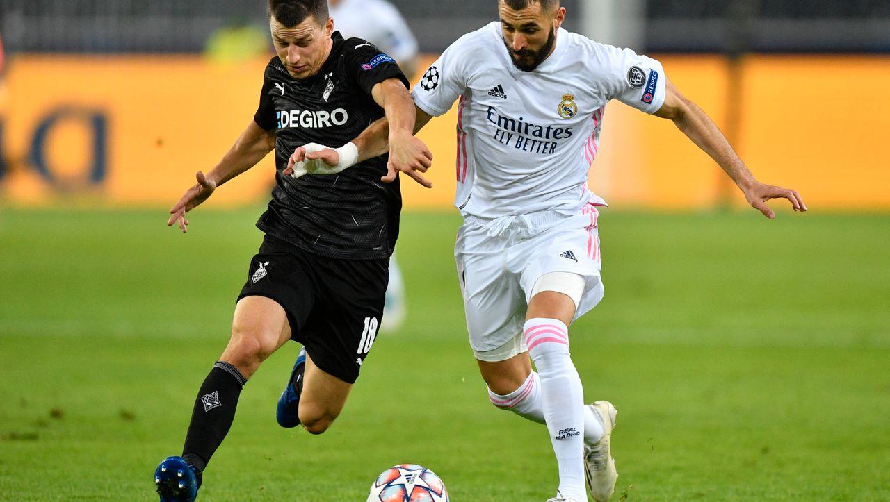 Borussia Mönchengladbach spielt nur Remis gegen Real Madrid in der Champions League