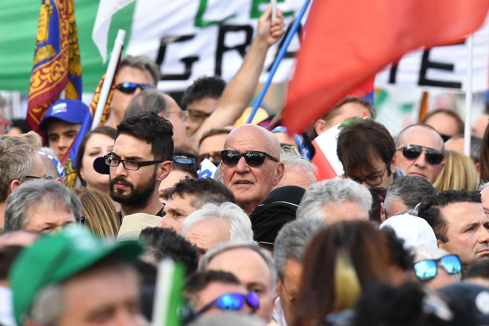 ITALY-POLITICS-PARTIES-LEAGUE-RALLY