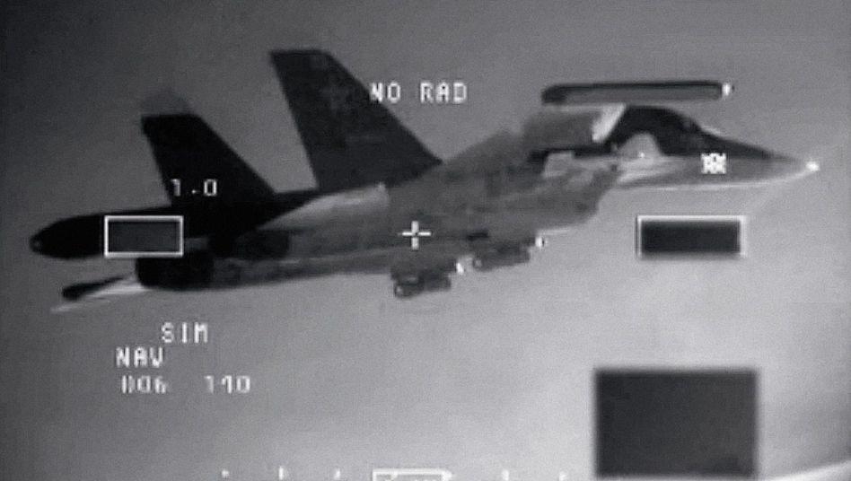 Russischer Jagdbomber über der Ostsee 2014(*): »Eine Provokation«