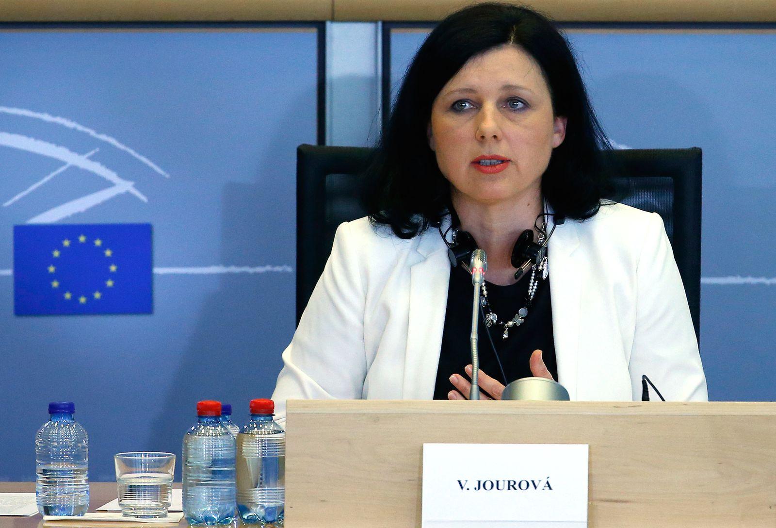 Vera Jourova/ EU Kommision