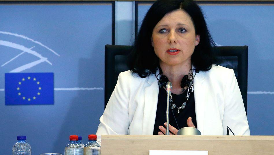 EU-Verbraucherschutzkommissarin Vera Jourová