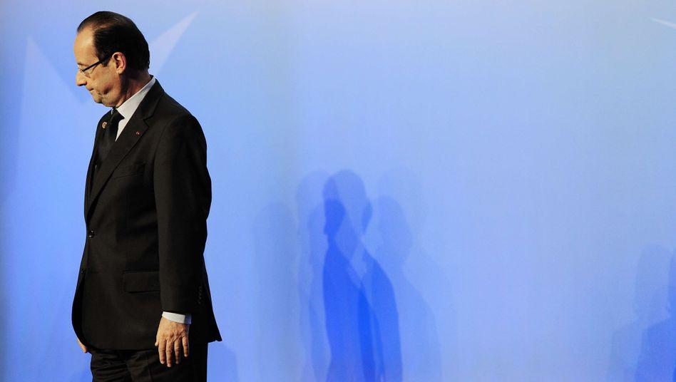 Frankreichs Präsident Hollande: Wie sehen seine Rezepte aus?