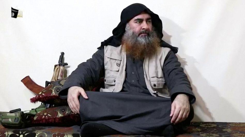 Abu Bakr al-Baghdadi (Archivaufnahme): Leichnam auf See bestattet