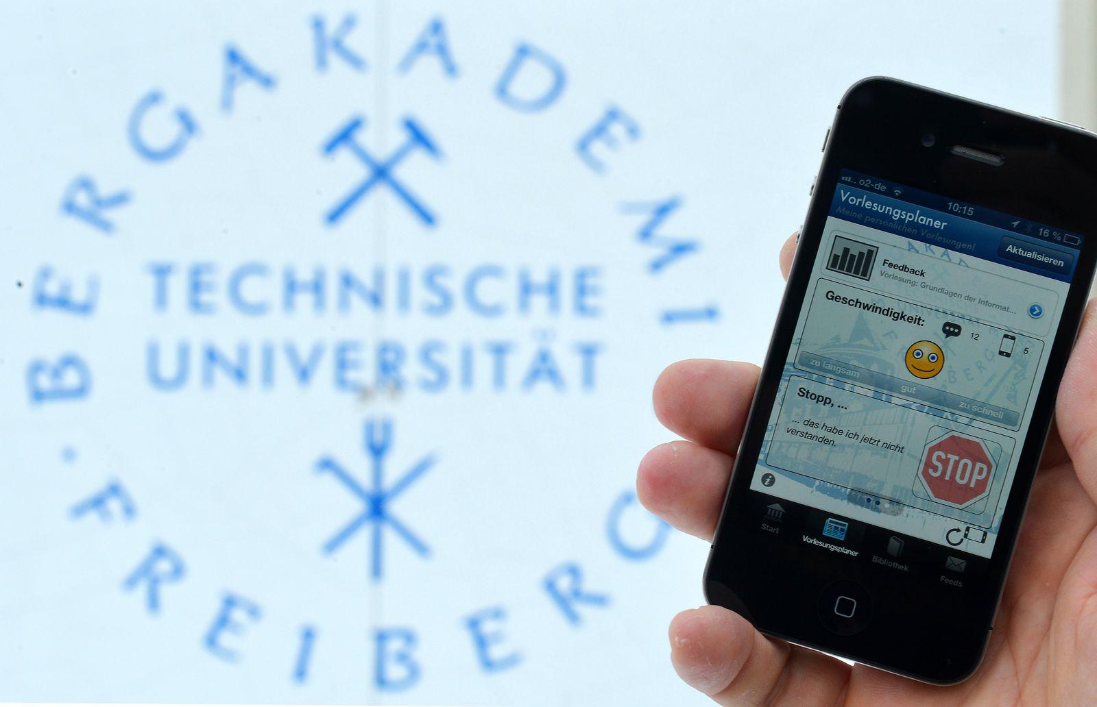 NICHT VERWENDEN Uni Freiberg / Handy / Professor