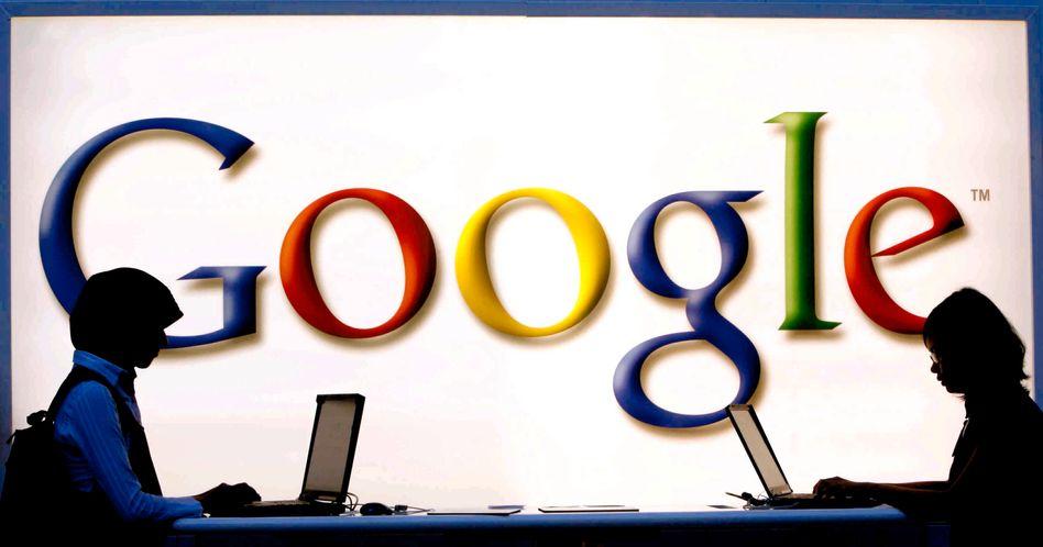 Google-Logo: Der Internetkonzern hat 15 Millionen Bücher gescannt