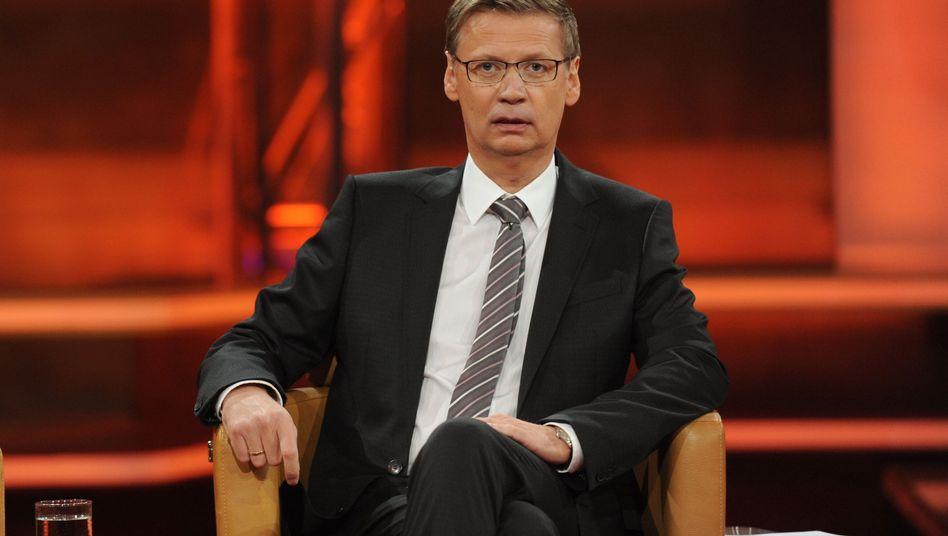 Moderator Günther Jauch: Kritisches Nachfragen fehlt