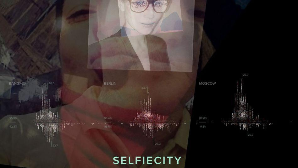 Selbstporträt-Collage: Forscher analysieren Tausende Instagram-Fotos