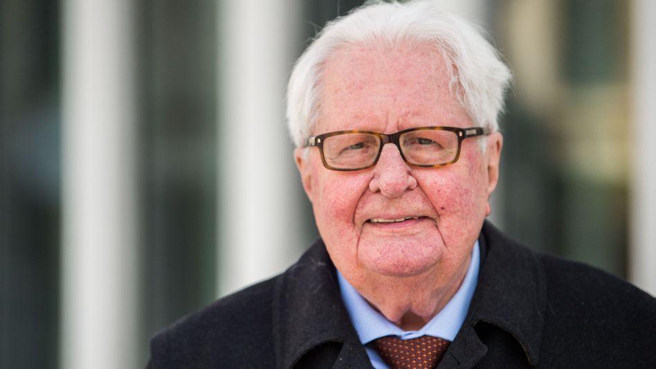 Plädiert für SPD-Doppelspitze: Hans-Jochen Vogel