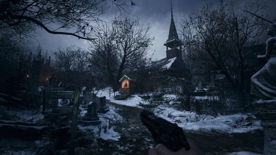 Szene aus »Resident Evil 8«: An manchem Ort würde man gern mehr Zeit verbringen