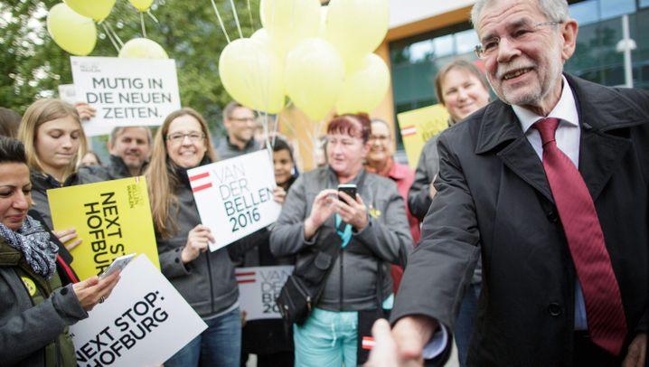 """Präsidentenwahl in Österreich: """"Beide blamiert, Amt beschädigt"""""""