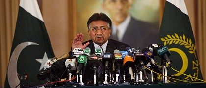"Pakistani President Pervez Musharraf describes US President George W. Bush as a ""friend,"" adding, ""I will miss him very much."""