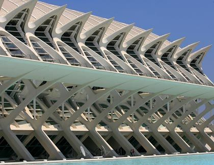 Valencia's Science Museum designed by renowned Spanish architect Santiago Calatrava.