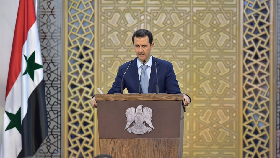 Syriens Präsident Assad: Das Monster IS genährt
