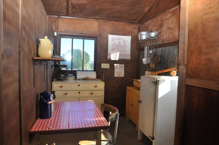 Europäische Atmosphäre: Zum Jeckes-Museum gehörte auch der Nachbau einer typischen Wohnung der Deutschjuden