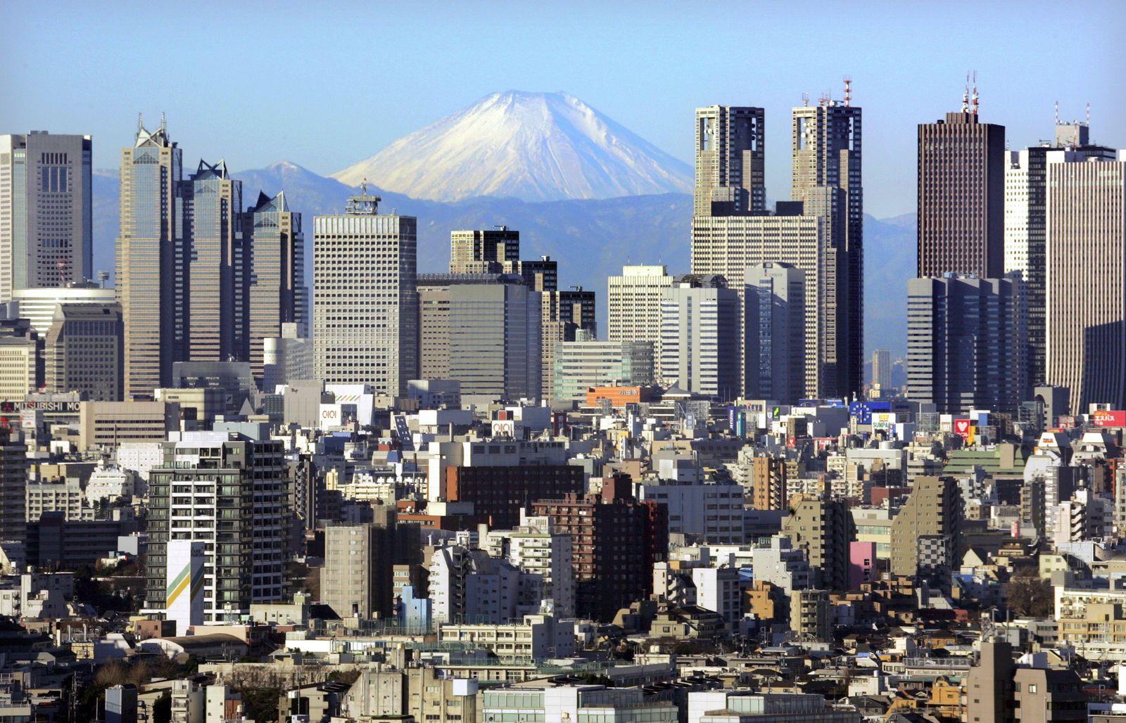 Japan / Tokio / Skyline / Olympi 2016