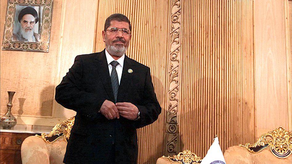 """Mohammed Mursi in Teheran: """"Last und Verantwortung"""""""