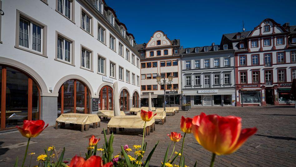 Geschlossene Geschäfte in Koblenz an der Mosel