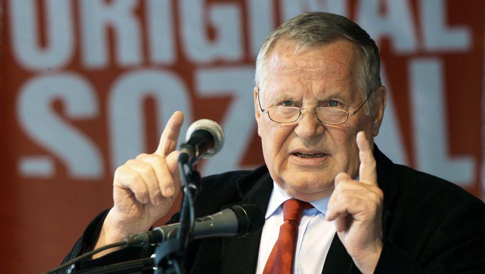 Ex-Parteichef: Linken-Politiker Bisky gestorben