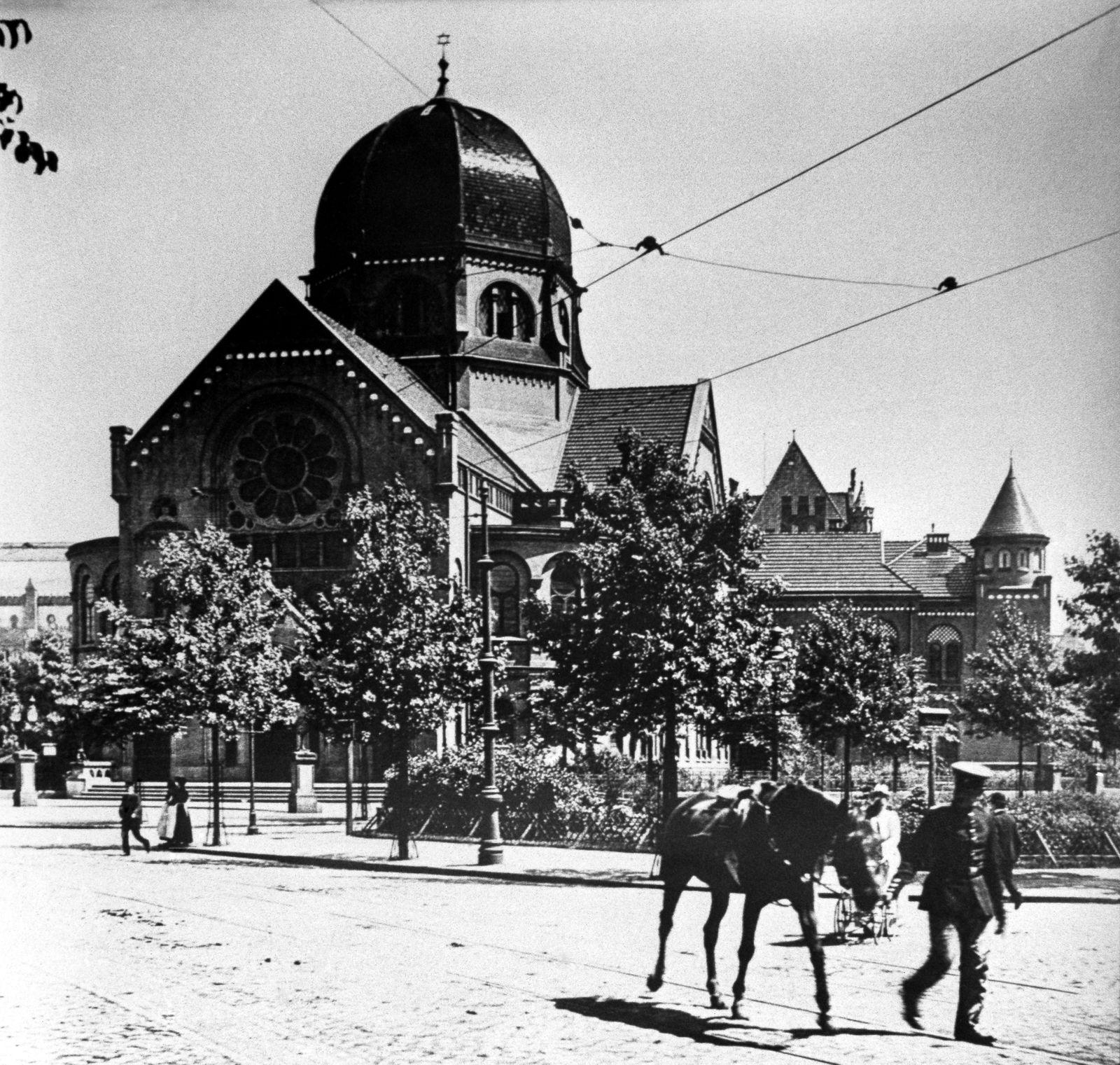 Hamburg Rotherbaum: Synagoge am Bornplatz