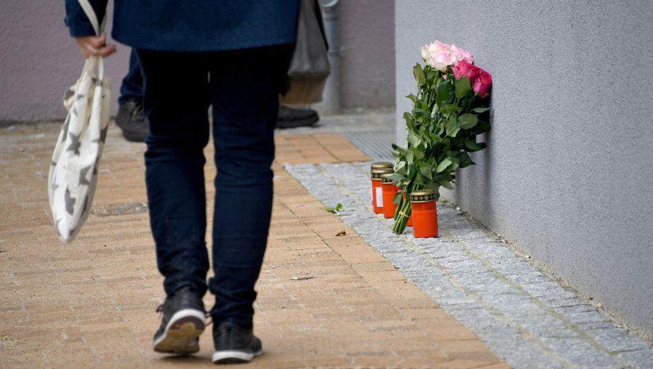 Gedenken an die getötete 17-Jährige