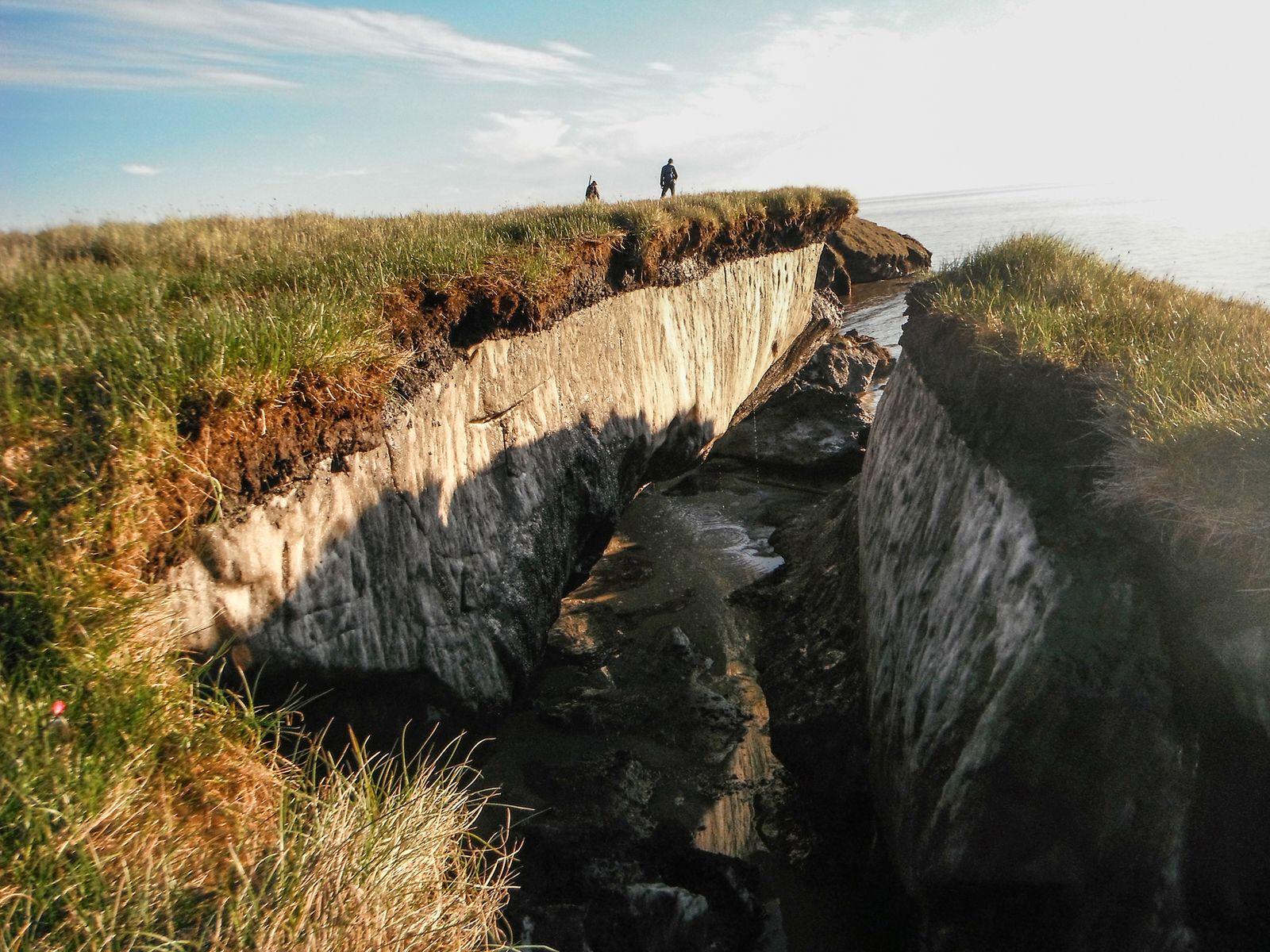 Coastal Erosion And Permafrost