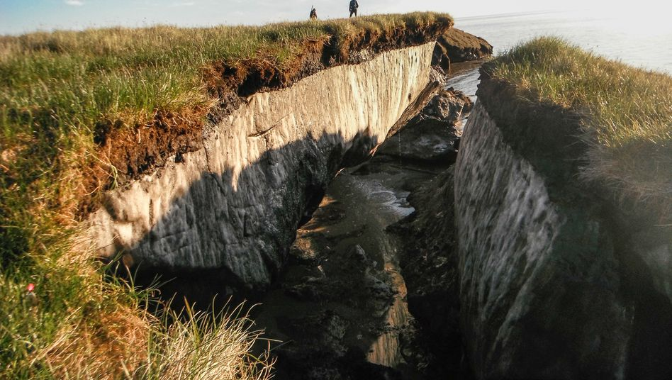 Permafrostböden (in Alaska)
