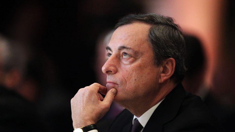 EZB-Chef Draghi: Kampf gegen Mini-Inflation