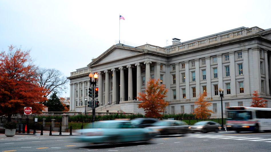 Das US-Finanzministerium in Washington