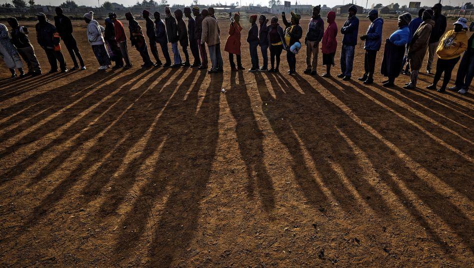 Wähler in Südafrika: Besonders junge Menschen sind verdrossen