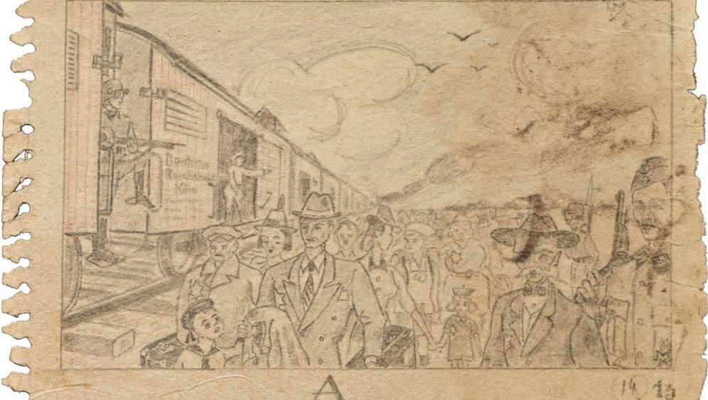 Auschwitz-Zeichnungen: Skizzen des Schreckens