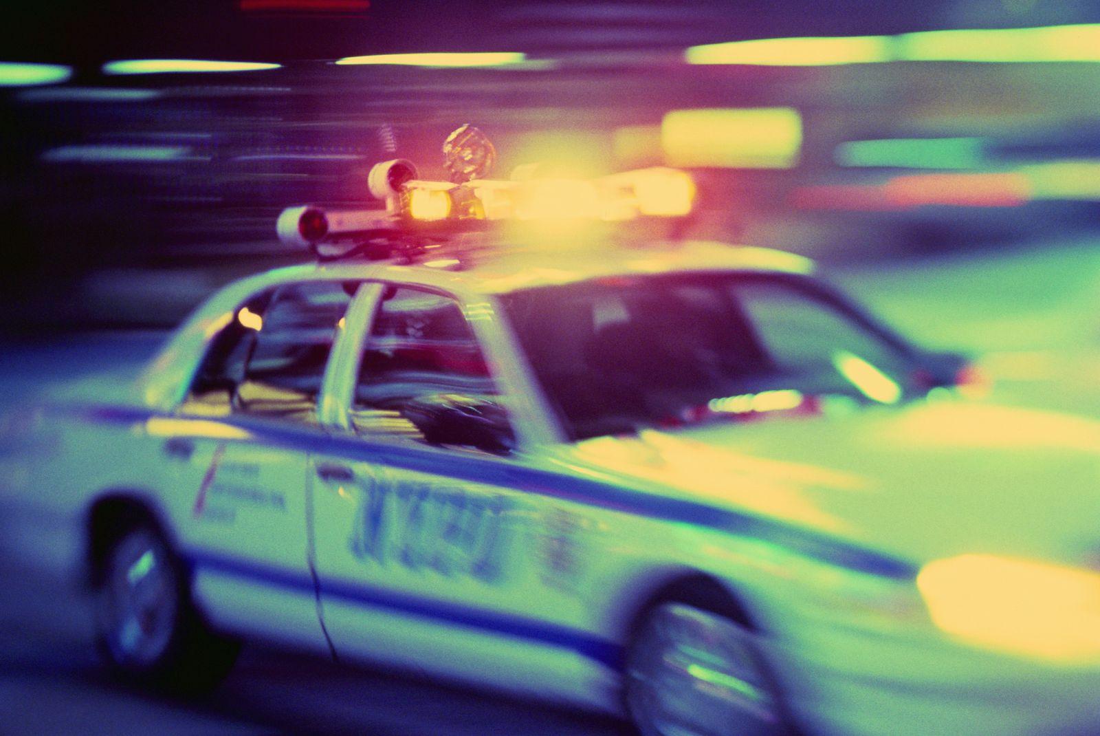 NICHT MEHR VERWENDEN! - USA / NYPD / Polizei New York / Streifenwagen